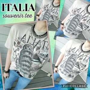 ITALIA Graphic Souvenir T-shirt
